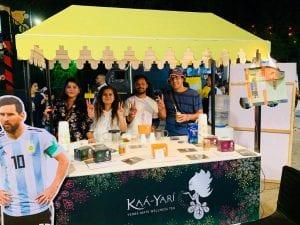 Yerba Mate Wellness Tea at Horn Ok Please Festival